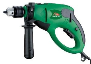 Powertec 710W Hammer Function Electric 13mm Impact Drill (PT82041) pictures & photos