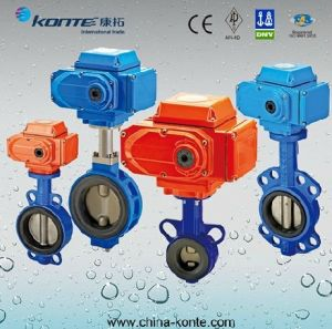 Electric Wafer Butterfly Valve D971X-10 pictures & photos