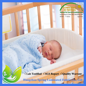 OEM Designed Waterproof Mini Crib Mattress Cover Cotton pictures & photos