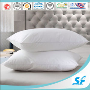 Rectangle Shape 100% Cotton Material Duck Down Feather Pillows pictures & photos