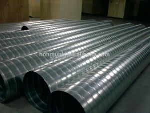Hot Sale Spiral Duct Machine for Forming Galvanized Steel Pipe pictures & photos