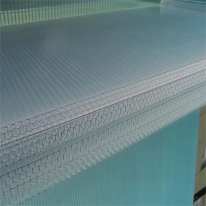 Translucent Building Materials Polycarbonate Honeycomb Panel pictures & photos