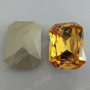 Crystal Octagon Jewelry Accessories, Fancy Loose Diamond Stone Bead (DZ-3007) pictures & photos