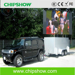 Chipshow P10 Full Color Mobile LED Display for Advertising pictures & photos