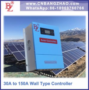 10kw -120V-80A off Grid PWM Solar Charge Controller with Touch LCD Screen pictures & photos