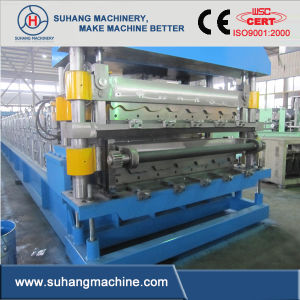 5.5kw Hydraulic Wall Panel Double Layer Roll Forming pictures & photos