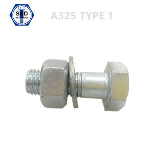 Hex Bolt ASTM A325 Type 1 Zinc Plated