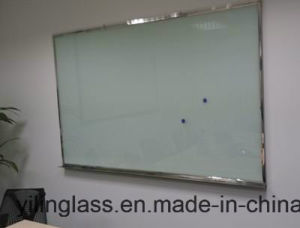 High Quality Tempered Whiteboard Glass with Roller -Painted Color pictures & photos