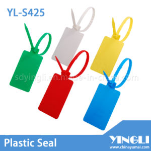 Pull Tight Plastic Seal with Large Label (YL-S425) pictures & photos