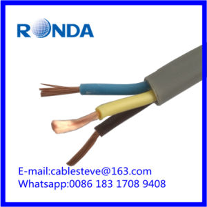 PVC copper flexible electrical wire cable 1.5 2.5 4 6 SQMM pictures & photos