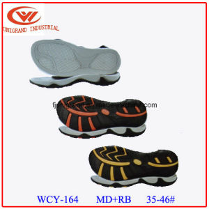Fashion MD Rubber Material Series Sandals Sole pictures & photos