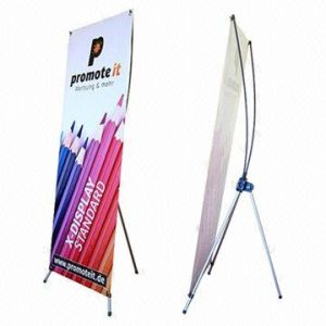 60*160cm Portable X Banner Display for Advertising pictures & photos
