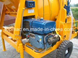 Yanmar Diesel Concrete Mixer With Mechanical Tipping (JZR350) pictures & photos