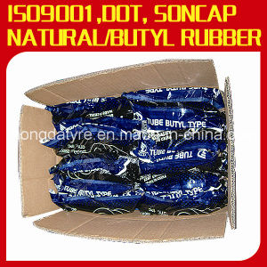 Natural Rubber/Butyl Rubber Motorcycle Inner Tube 3.00-18 pictures & photos