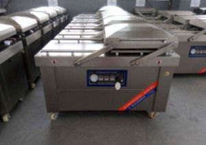 Full Stainless Steel Vegetable Vacuum Packing Machine pictures & photos