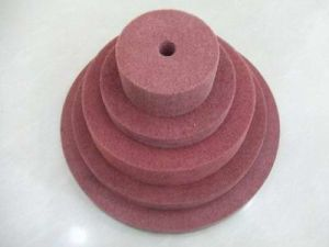 Maroon Color Deburring Wheel pictures & photos