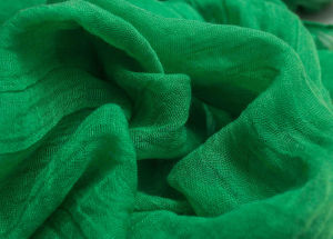 100% Polyester Twist Voile Scarf Fabric pictures & photos