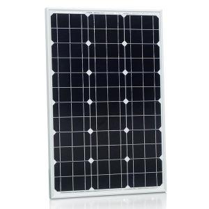 50W 18V Monocrystalline Solar Panel for 12V Solar Power System pictures & photos
