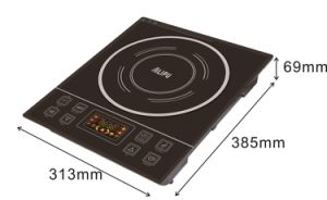 New Design Ultra-Slim Crystal Plates Electric Induction Cooker pictures & photos