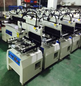 PCBA Screen Printing Machine for LED Assembly Line pictures & photos