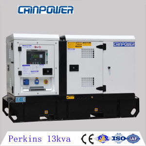 10kw UK Perkins Super Silent Diesel Generator with 404A-15g1 Mecc