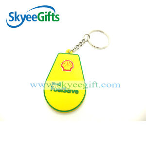 Sales Promotion Design PVC Keychain Custom Rubber Keychain pictures & photos