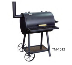 Outdoor BBQ Charcoal Grill with Wheels and Chimney pictures & photos