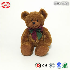 Brown Shining Cute Sitting Sutffed Quality Plush Soft Toy pictures & photos
