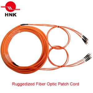 PC/Upc/APC Sc/LC/FC/St/Mu/MTRJ/E2000 Simplex Duplex Singlemode Multimode Fiber Optic Patch Cord pictures & photos