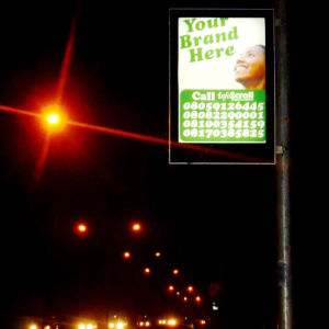 Outdoor Advertising Lamp Post Banner LED Light Box pictures & photos