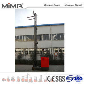 TF Series Electric Forklift Reach Truck Mima Brand pictures & photos