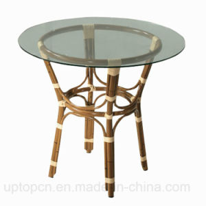 Leisure Wicker Furniture Restaurant Outdoor Cafe Table (SP-AT221) pictures & photos