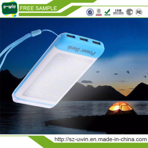 5 Colors Ultra Thin Solar Mobile Phone Charger pictures & photos