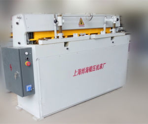 2. Precise Metal Cutting Machine with Good Quality Qd11 3X1300mm pictures & photos