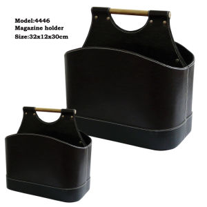 Imitation PU Leather Magazine Holder (4446) pictures & photos