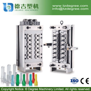 12 Cavity Hot Runner Valve Pin Pet Preform Plastic Bottle Mould pictures & photos