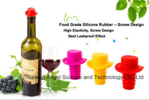 Wholesale Silicone Cork Silicone Stopper for Wine Bottle Sk27 pictures & photos