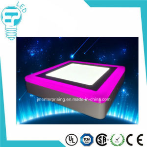 5W Double Colort LED Recessed Ceiling Panel Down Light pictures & photos