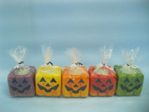 Halloween Candle Shape Ceramic Crafts (LOE2372B-5z) pictures & photos