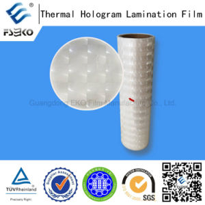 Lens Pattern 3D Pre-Coating Roll Laser Film pictures & photos
