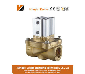 2 Way 2 Inch Direct Acting Brass Air Control Solenoid Valve pictures & photos