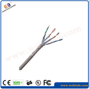 FTP Shielded CAT6 LAN Cable for Data Communication pictures & photos