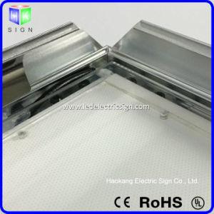 Aluminum Snap Frame Advertising Slim LED Light Box pictures & photos