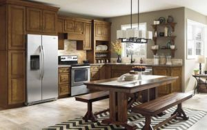 Kitchen Design American Style china island style american kitchen cabinet solid wood modular
