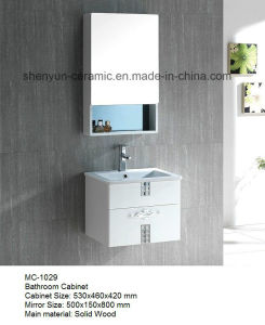 Bathroom Furniture Bathroom Cabinet with Wash Basin (MC-1029) pictures & photos