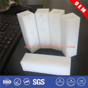 Sloting Square Head Round Hole Plastic Sleeve (SWCPU-P-B792) pictures & photos