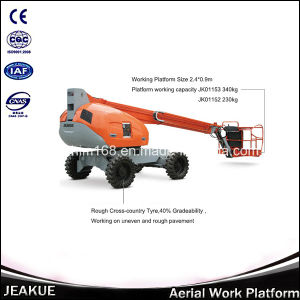 Top Quality Arm 36 / 34m Leveling Self-Propelled Aerial Work Platforms pictures & photos
