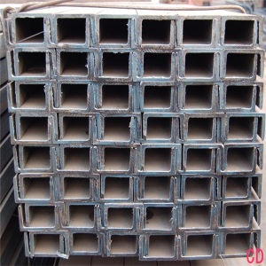 China Tianjin Structural Steel Section Q235 Low Carbon Channel Steel Size pictures & photos