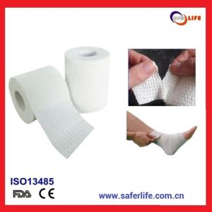 2015 Cohesive Medical Sport Tapeelastic Adhesive Elastic Tapeathletic Elastic Surgical Leuko Eab Adhesive Bandage Tape pictures & photos
