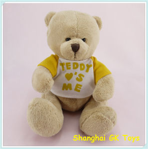 Plush Teddy Beaar with T-Shirt Cute Teddy Bear pictures & photos